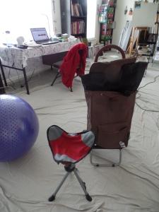 my new mobile art studio