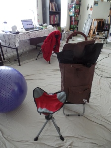 my new mobile art studio