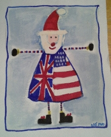 Day 2 from an old Christmas card I had made a few years ago