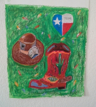 Day 23 More ornaments we have. Texas themed